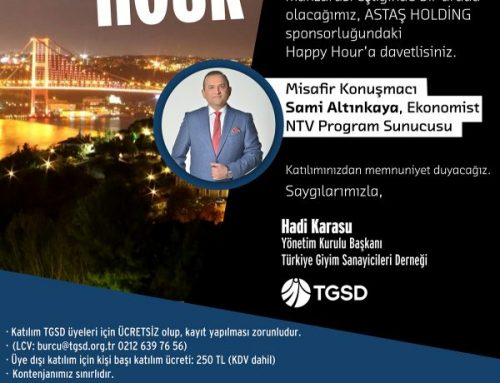 TGSD HAPPY HOUR 17 Nisan 2019