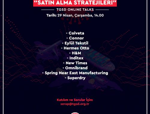 SATIN ALMA STRATEJİLERİ TGSD ONLİNE TALKS- 29 NİSAN 2020