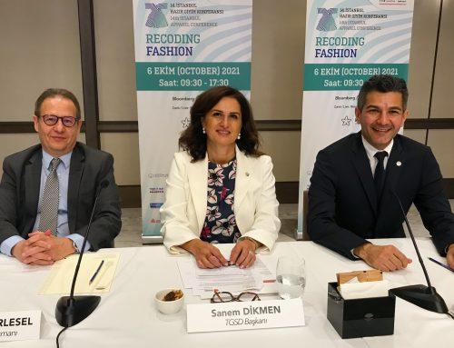14. İstanbul Hazır Giyim Konferansı Basın Toplantısı 28 Eylül 2021